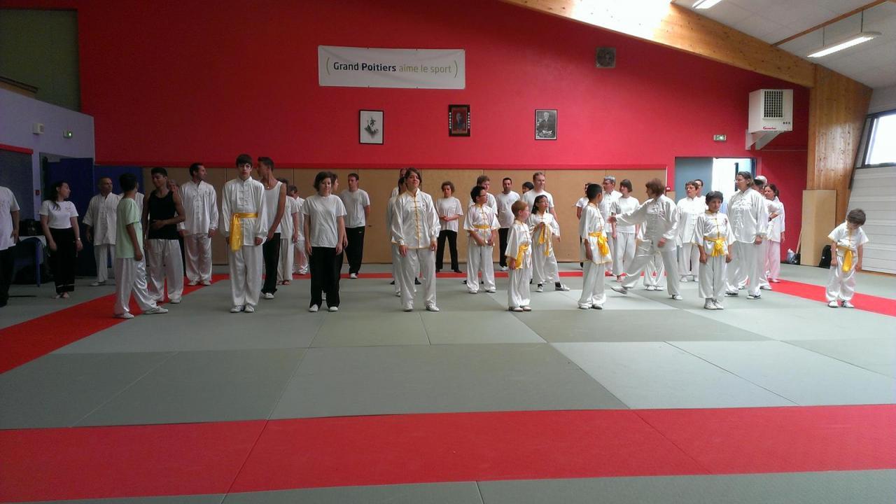 Fête des élèves de Poitou Wushu