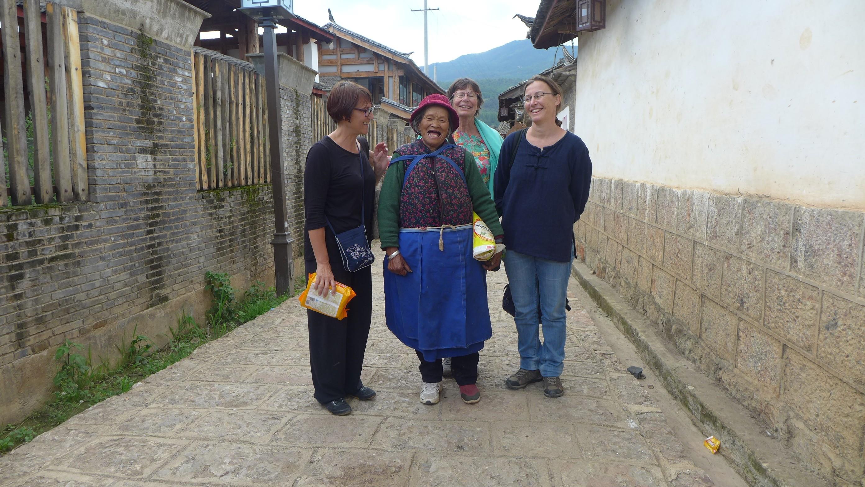 Dans les rues de Baisha -Yunnan