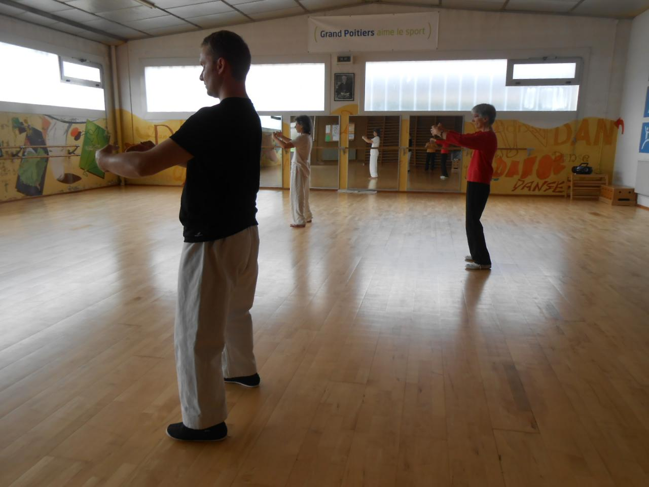 STAGE QI GONG 2014