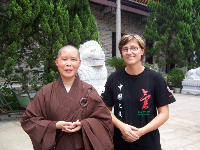Voyage d'étude Quimetao Chine 2007